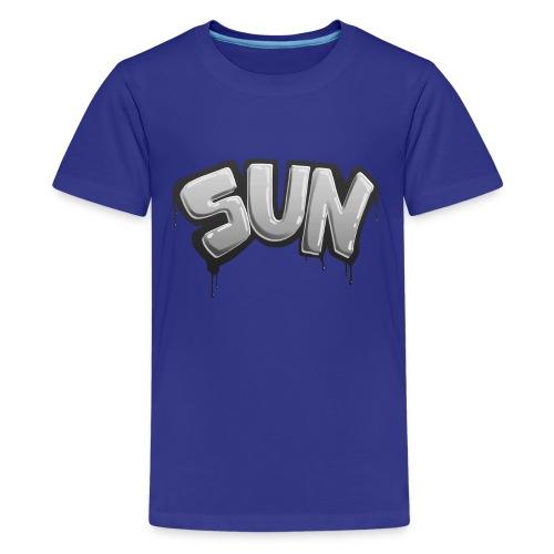 Tag Sun N&B - T-shirt Premium Ado