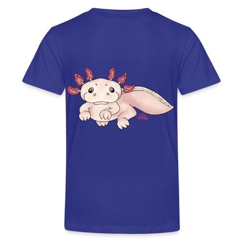 Axenia Axolotl - Teenager Premium T-Shirt