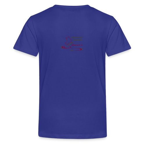 Original Logo Eiskunstlauf Akademie Rheine e.V. - Teenager Premium T-Shirt