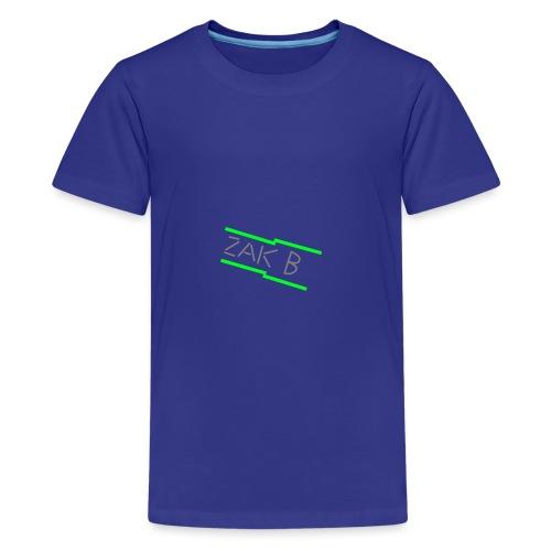 Green ZAK B png - Teenage Premium T-Shirt