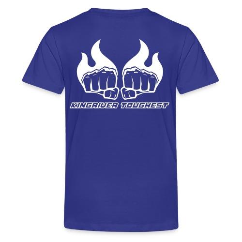 Kingriver Toughest - Premium-T-shirt tonåring