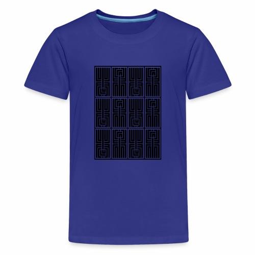 LUFC AZTEC - Teenage Premium T-Shirt