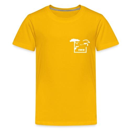 chcb logovecto petit22 - T-shirt Premium Ado
