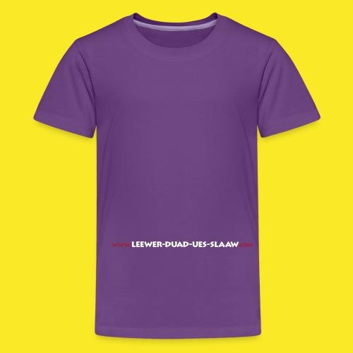 wwwlduscom22x1 - Teenager Premium T-Shirt