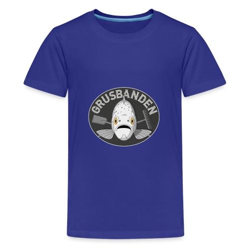 Grusbanden - Teenager premium T-shirt