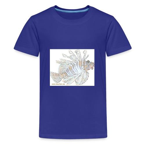 Lionfisch Effekt 2 - Teenager Premium T-Shirt