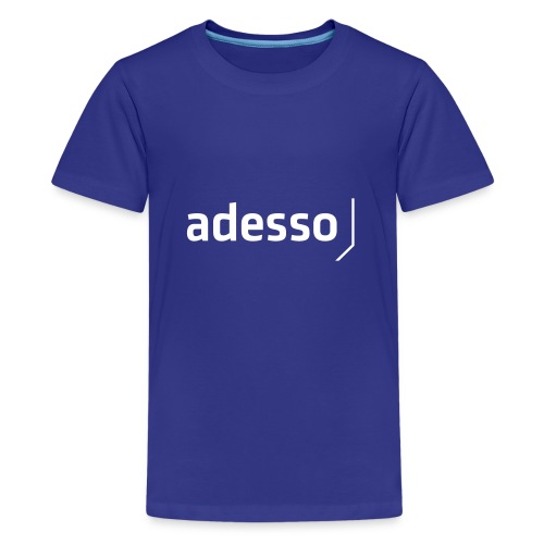 adesso basic white - Teenager Premium T-Shirt