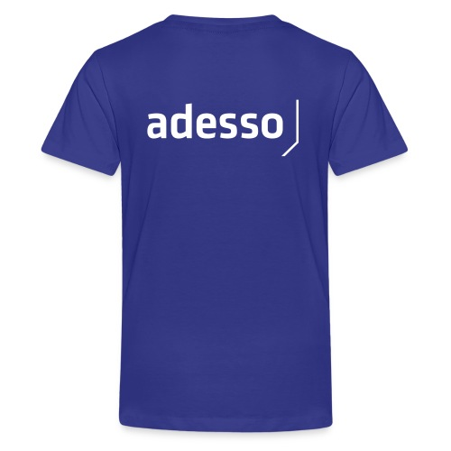 adesso basic white - Teenager Premium T-Shirt
