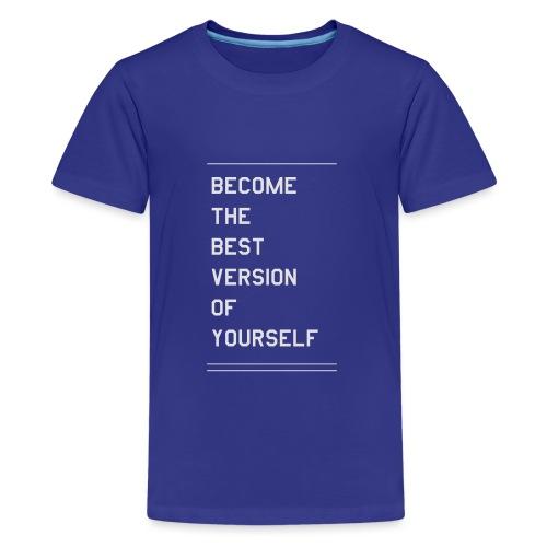 quote - Premium-T-shirt tonåring