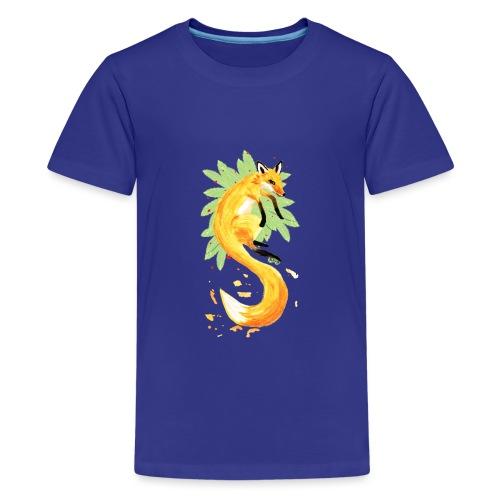 Spring of Fox - Teenage Premium T-Shirt