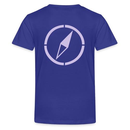 dogsports on track kompass - Teenager Premium T-Shirt