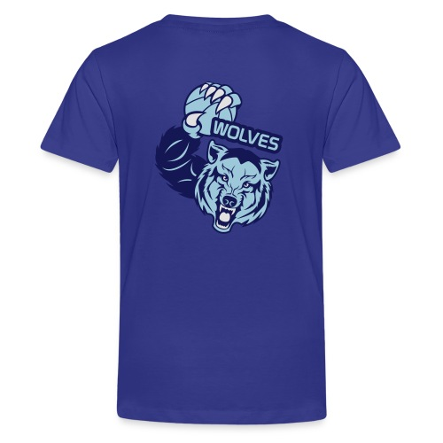 Wolves Basketball - T-shirt Premium Ado