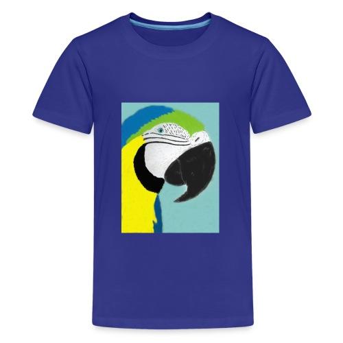 Parrot, new - Teinien premium t-paita