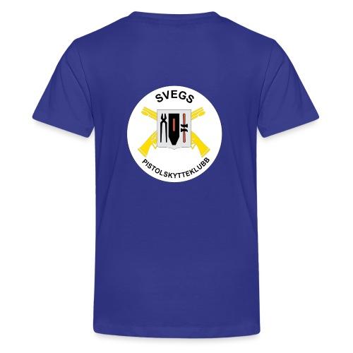 Svegs Pistolskytteklubb - Premium-T-shirt tonåring