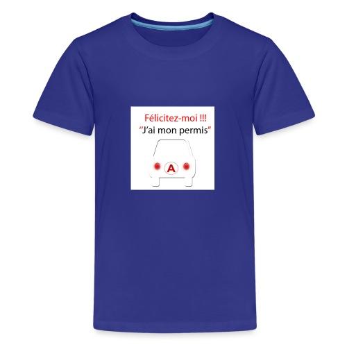 PermisA 800x800 - T-shirt Premium Ado