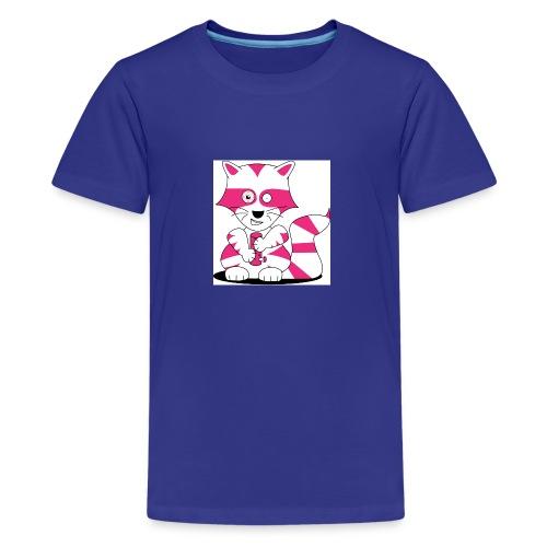 randolpf the raging racoon Digitalmotiv - Teenager Premium T-Shirt