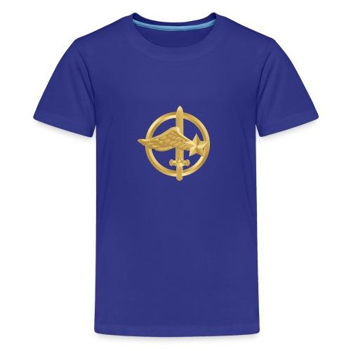 Tasse Fusiliers Commandos de l'Air - T-shirt Premium Ado