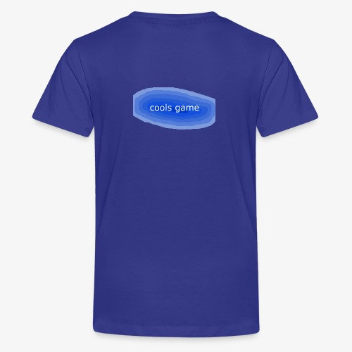 cools gamer - Teenage Premium T-Shirt