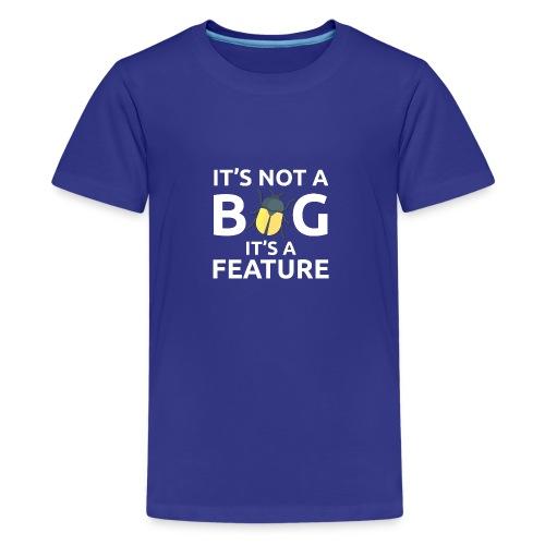 Bug feature sviluppatore programmatore Tazze & - Maglietta Premium per ragazzi