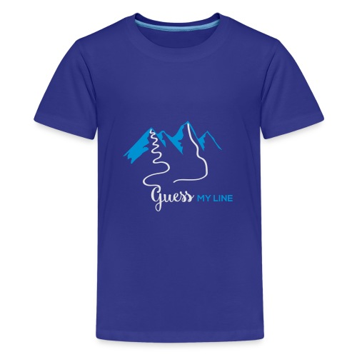 GUESSMYLINE - Teenager Premium T-Shirt