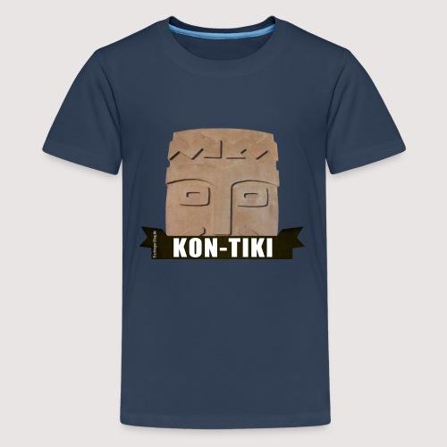 Kon-Tiki, legendärer Gott der Osterinsel! Motiv 1 - Teenager Premium T-Shirt
