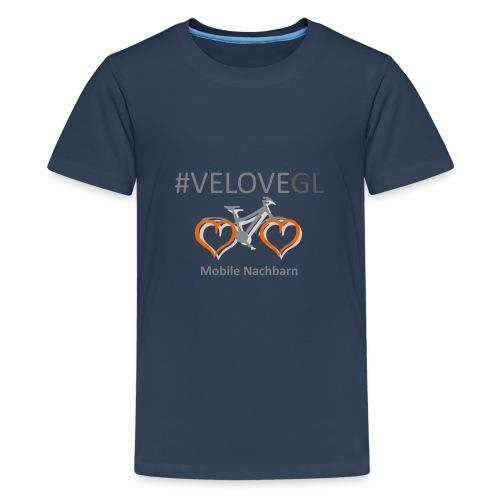 Mobile Nachbarn - Teenager Premium T-Shirt