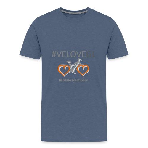 Mobile Nachbarn GL - Teenager Premium T-Shirt