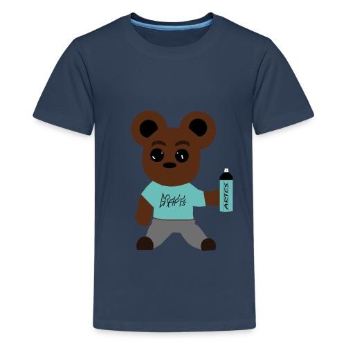 oursons graffeur V2 - T-shirt Premium Ado
