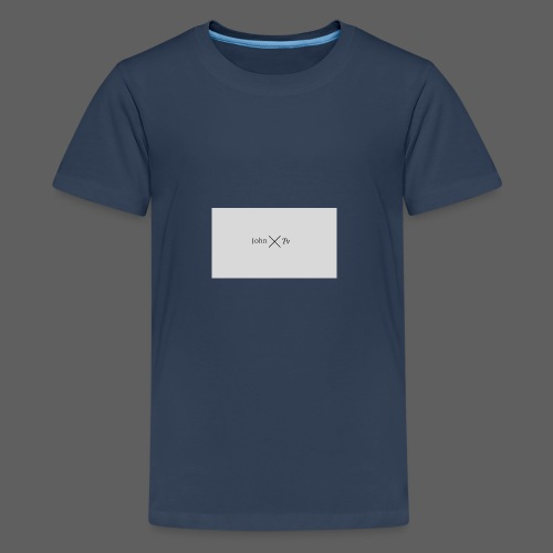 john tv - Teenage Premium T-Shirt