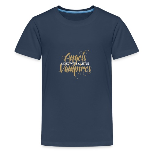 MIXED ANGEL - Teenage Premium T-Shirt