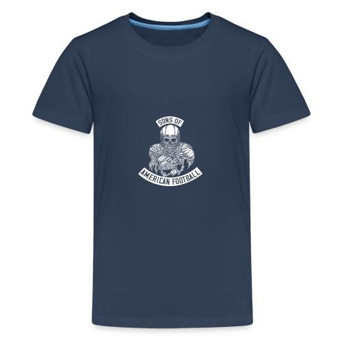 SONS OF AMERICAN FOOTBALL - Teenager Premium T-Shirt