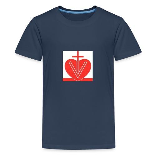 Visk stor - Premium-T-shirt tonåring