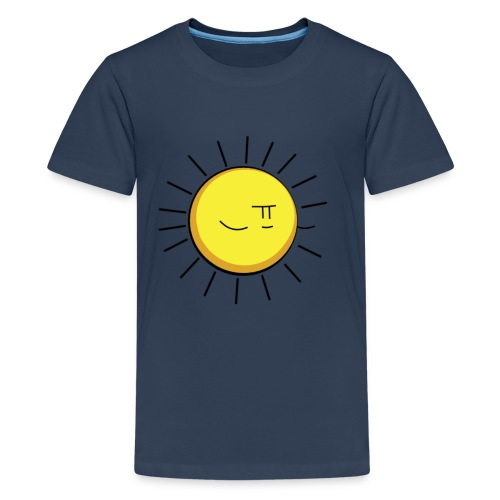 Sun Teeiey png - Teenage Premium T-Shirt
