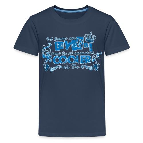 Ich komme aus Bayern dami bin ich automatisch - Teenager Premium T-Shirt