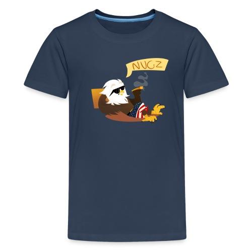 Women's V Neck - Teenage Premium T-Shirt