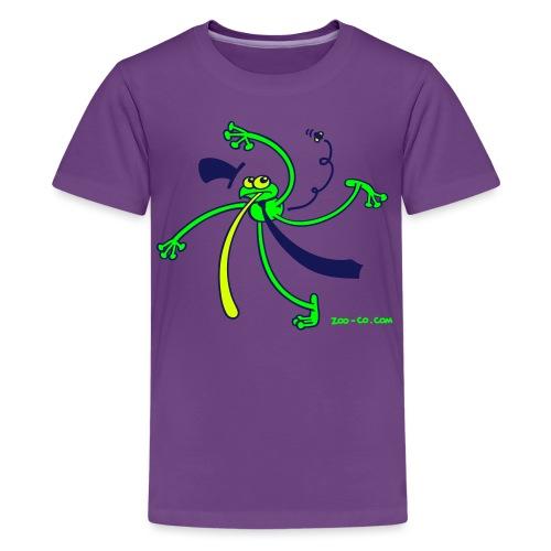 Dancing Frog - Teenage Premium T-Shirt