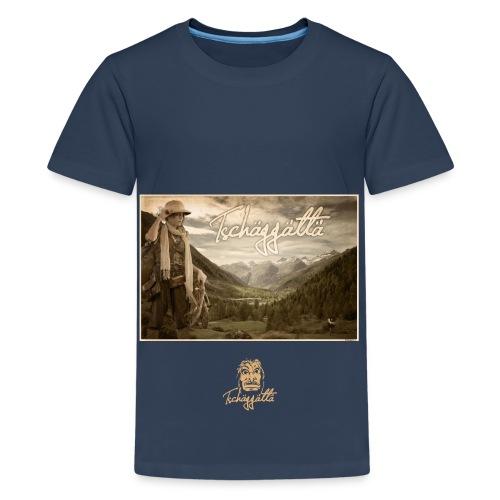 Tschaggatta logo red - Teenage Premium T-Shirt