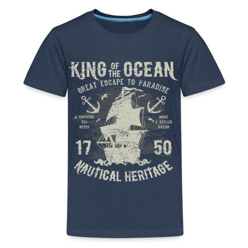 King of the Ocean - Teenage Premium T-Shirt
