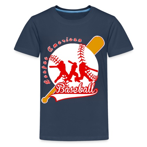 baseball league american - T-shirt Premium Ado