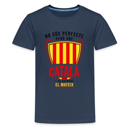Soc CATALA Catalan Catalunya Catalona Catalonia - Camiseta premium adolescente
