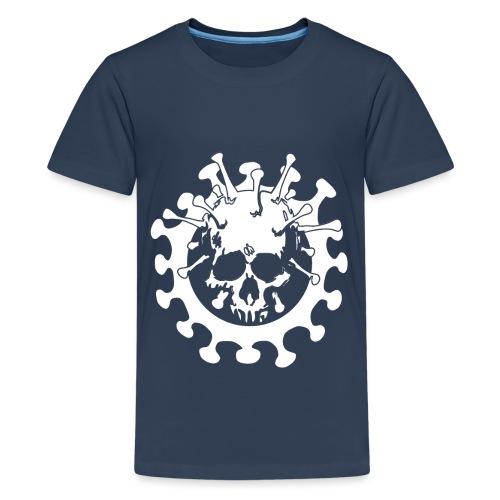 Skull No Corona - Maglietta Premium per ragazzi