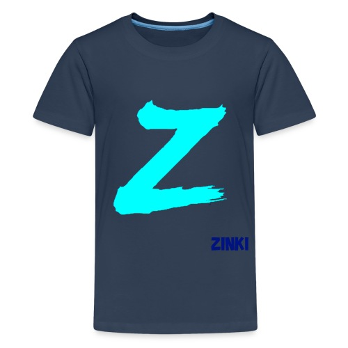 ZINKI LOGO - Teenage Premium T-Shirt