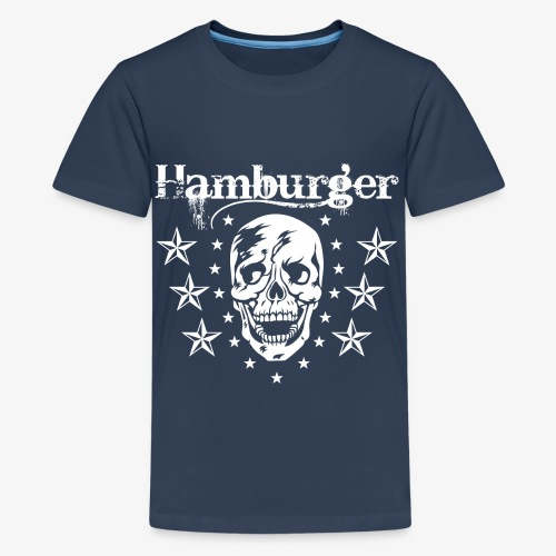 74 Hamburger Totenkopf Skull - Teenager Premium T-Shirt