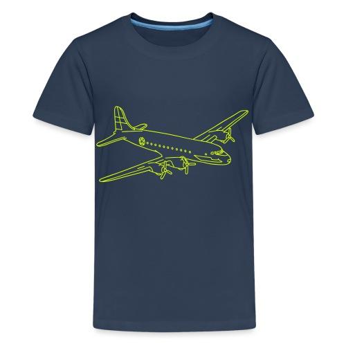 Flugzeug - Teenager Premium T-Shirt
