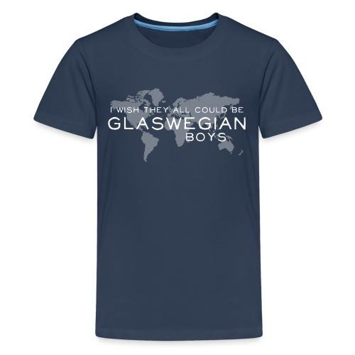 Glaswegian Boys - Teenage Premium T-Shirt