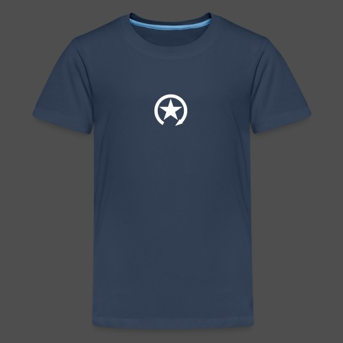 LOGO ZMIANY PRZEŁĄCZNIKA - Koszulka młodzieżowa Premium