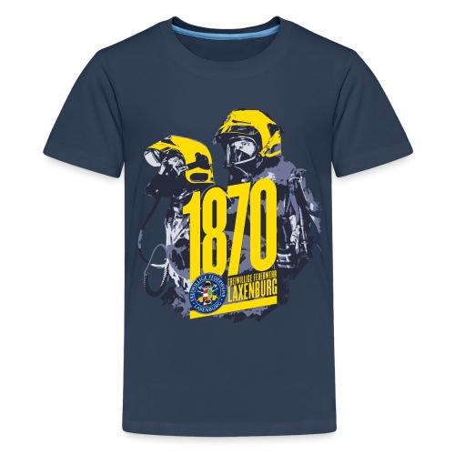 Seit 1870: Freiwillige Feuerwehr Laxenburg - Teenager Premium T-Shirt