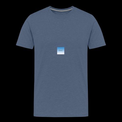 sky blue - Teenage Premium T-Shirt