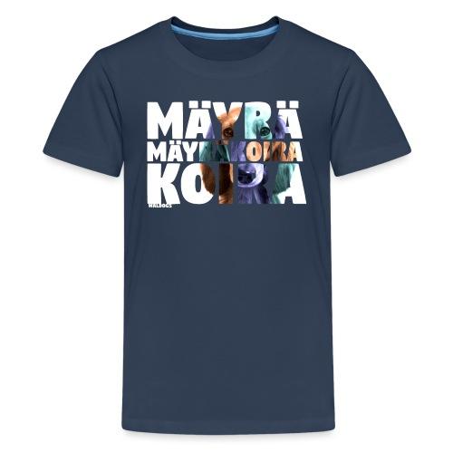 NASSU Mäyräkoira PK - Teinien premium t-paita
