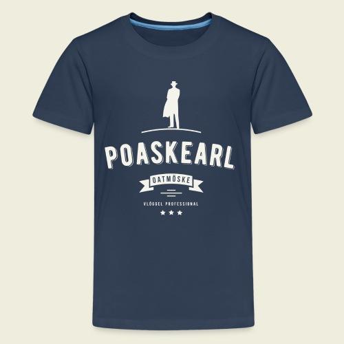 Poaskearl Oatmöske - Teenager Premium T-shirt